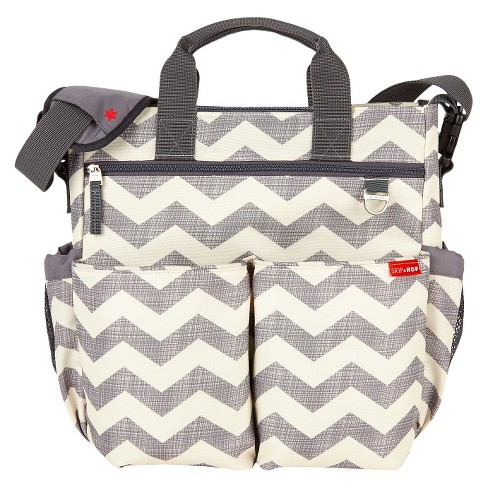 Skip Hop Duo Signature Diaper Bag Chevron