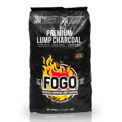 FOGO Premium Oak Restaurant All-Natural Hardwood Lump Charcoal, 17.6 Pounds