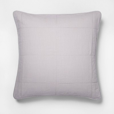 Solid Quilted Pillow Sham - Hearth & Hand™ with Magnolia