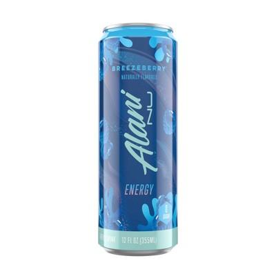 Alani Breezeberry Energy Drink -12 fl oz Can