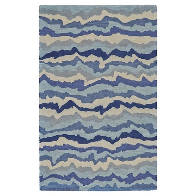 2'x3' Wave Tufted Accent Rugs Tide - Weave & Wander