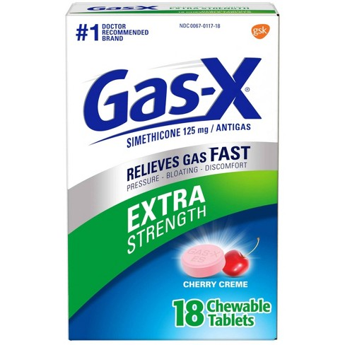 Gas-X Extra Strength Antigas Chewable Cherry Crème Tablets - image 1 of 4