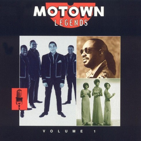 Various - Motown legends:Vol.1 (CD) - image 1 of 1