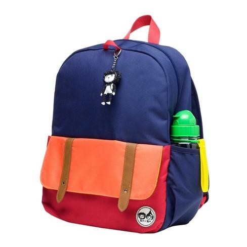 fcb63bf4cf2c Zip   Zoe Junior Kids  Backpack - Navy Color Block   Target
