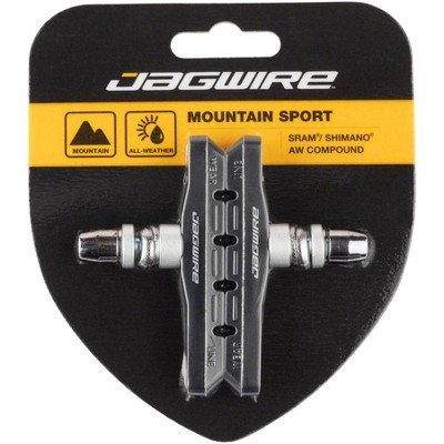 Jagwire Mountain Sport Threaded Brake Shoe and Pad