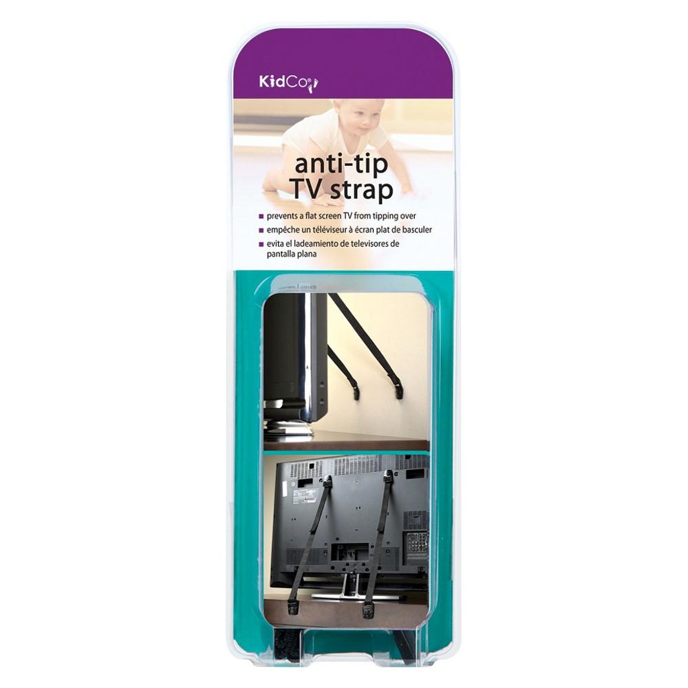 KidCo 2pk Anti-Tip TV Safety Strap - Black