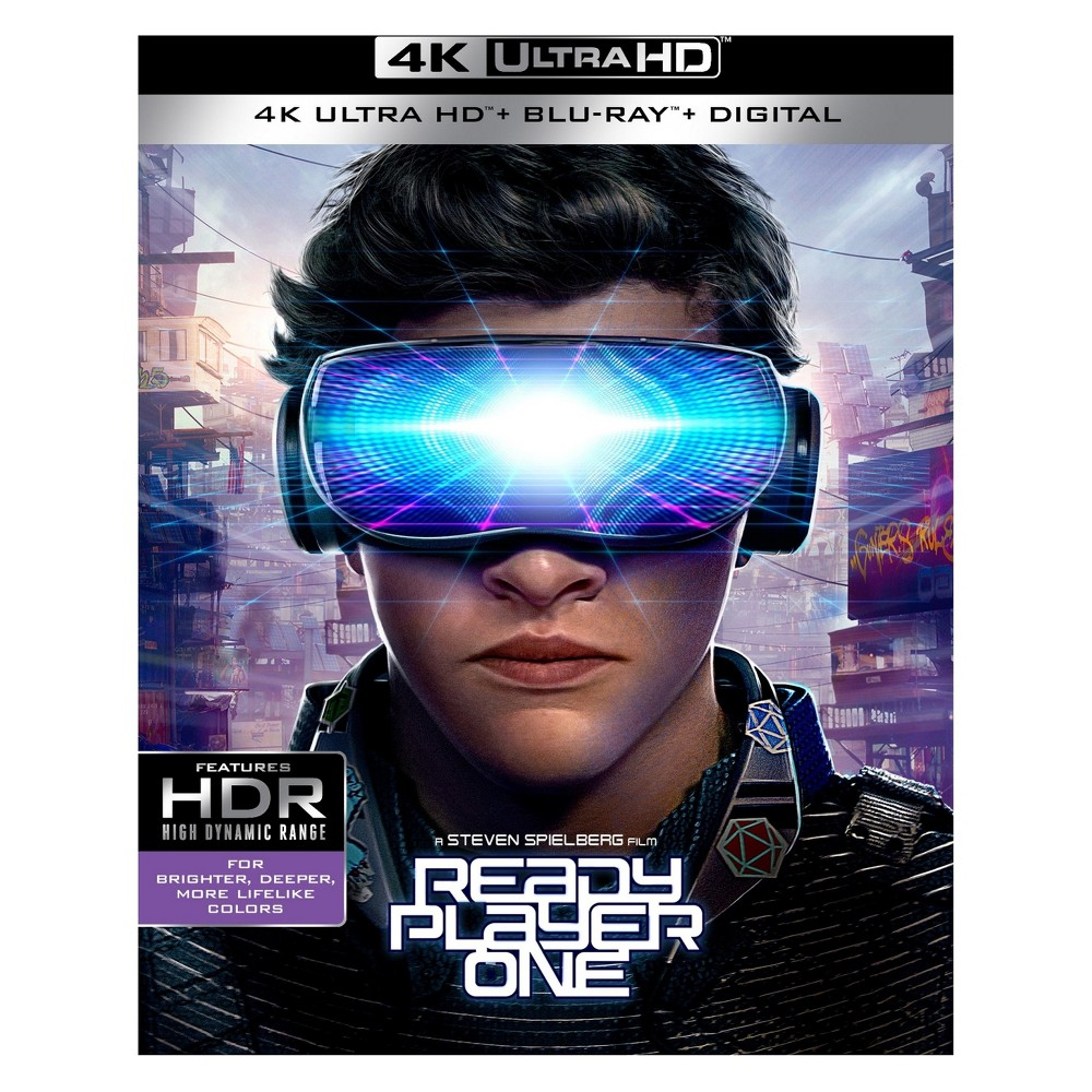 Ready Player One (4K/Uhd) (Target Exclusive)