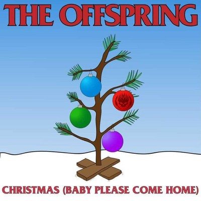 """The Offspring - Christmas (Baby Please Come Home) (7""""Single) (Opaque Red) (Vinyl)"""