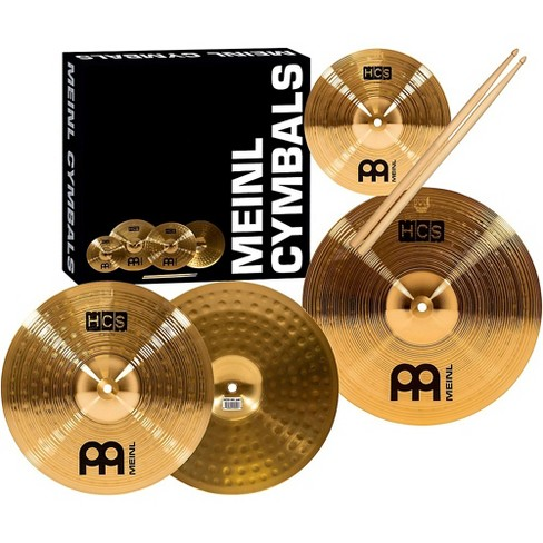 Meinl HCS Cymbal Pack with FREE Splash, Sticks, and Lessons - image 1 of 4