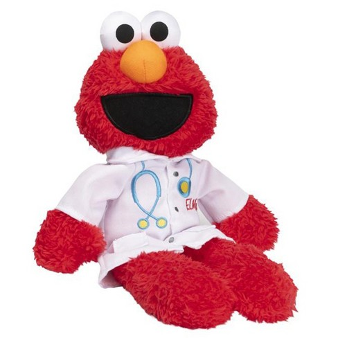 "Gund Sesame Street Elmo The Doctor - Plush 11"" Elmo - image 1 of 3"