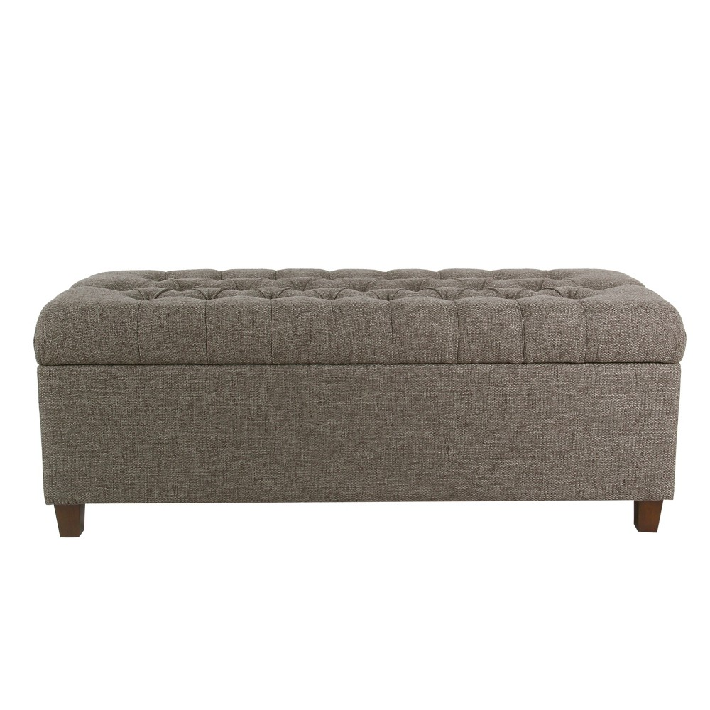 Homepop 48 Macalester Tufted Storage Bench Gray was $294.99 now $221.24 (25.0% off)