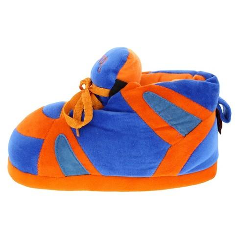 21c0fbd50e181 NCAA Florida Gators Adult Comfy Feet Sneaker Slippers - Orange Blue M    Target