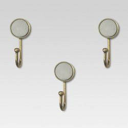 Marble & Gold Hooks set of 3 - Project 62™