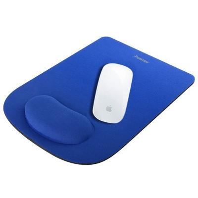 INSTEN Wrist Comfort Cushion Mousepad For Optical/ Trackball Mouse, Blue