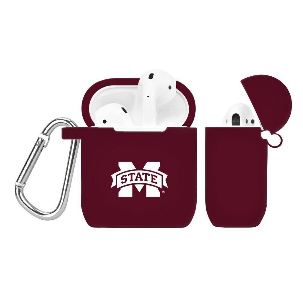 Ncaa Mississippi State Bulldogs Silicone Cover For Apple Airpod Battery Case