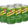 Schweppes Ginger Ale - 6pk/7.5 fl oz Cans - image 2 of 4