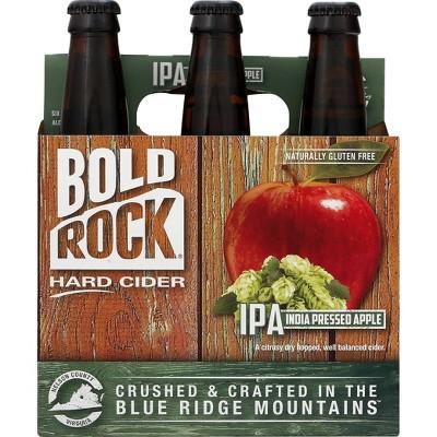 Bold Rock IPA India Pressed Apple Hard Cider - 6pk/12 fl oz Bottles