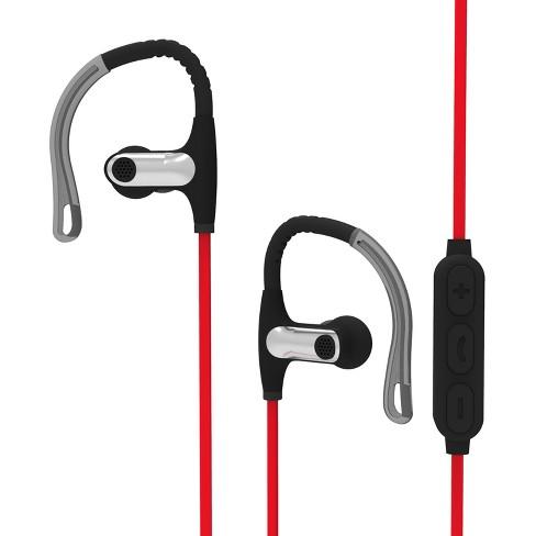 Sharper Image Sport Fit Wireless Earbuds Black Sbt550bk Target