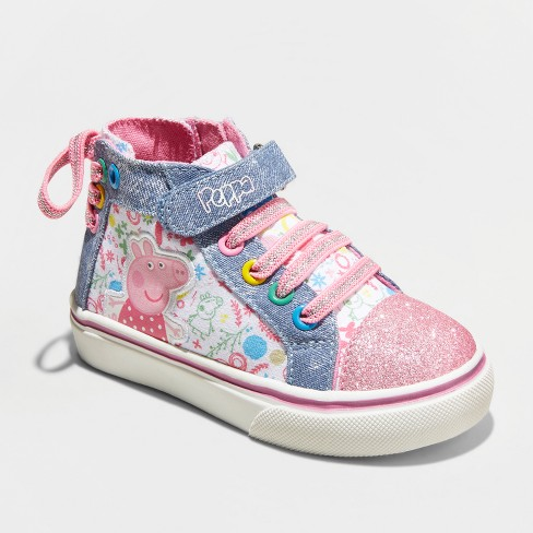 Toddler Girls' Peppa High Top High top Sneakers - image 1 of 3