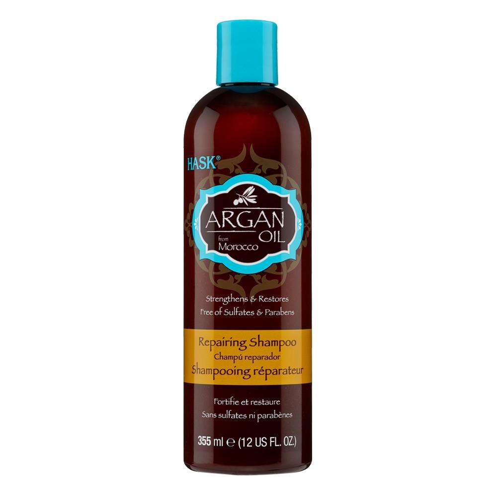 Image of Hask Argan Oil Repairing Shampoo - 12 fl oz