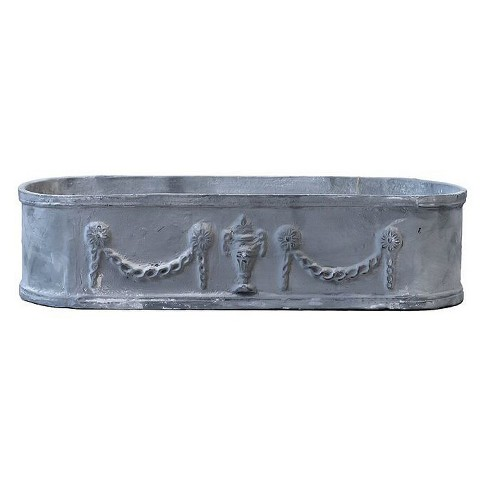 Cast Iron Oval Urn - 3R Studios - image 1 of 1