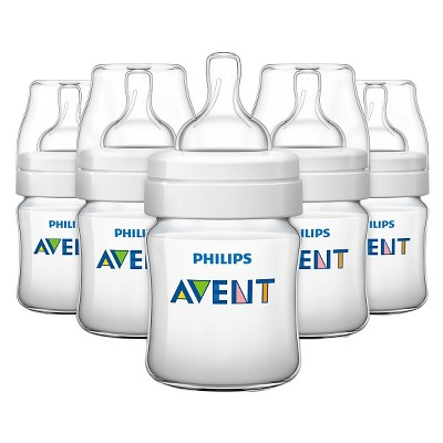 Philips Avent Anti Colic Baby Bottle 125ML/4oz 5pk