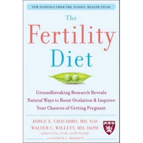 The Fertility Diet: Groundbreaking Research Reveals Natural Ways to Boost Ovulation and Improve Your - image 1 of 1