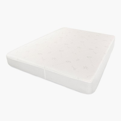 Waterproof Rayon from Bamboo and Polyester Hypoallergenic Mattress Protector by Blue Nile Mills