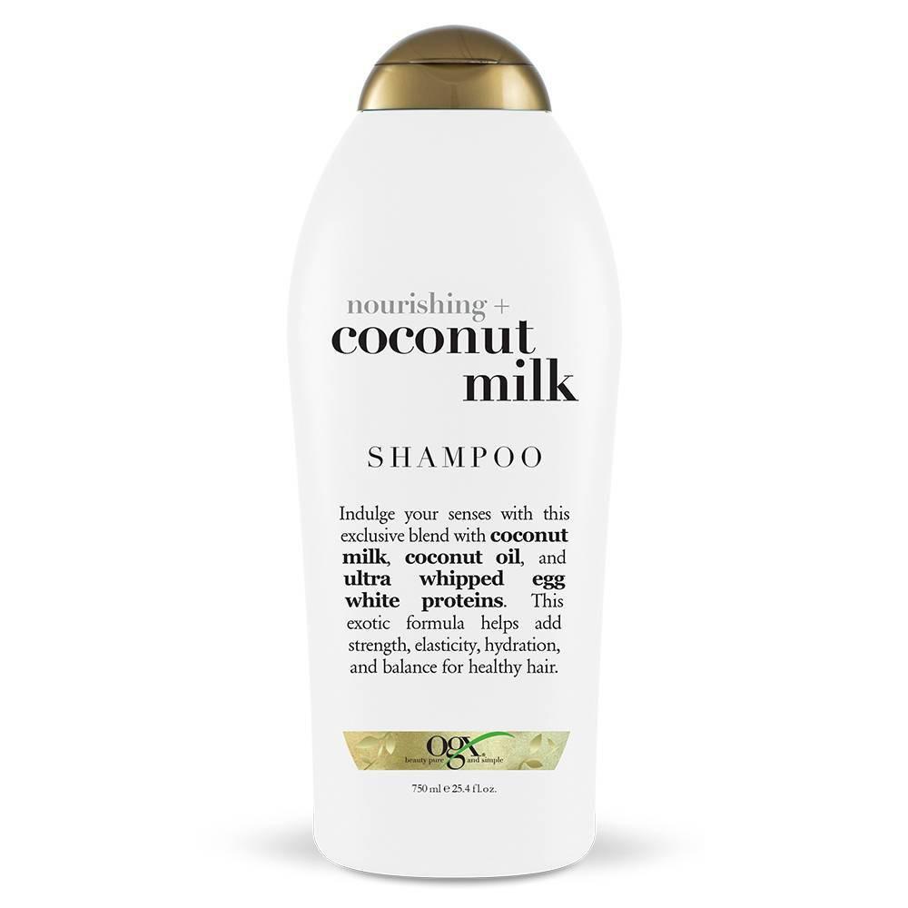 Ogx Nourishing Coconut Milk Salon Size Shampoo 25 4 Fl Oz