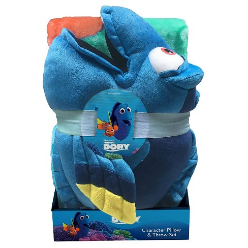 Dory Fun in the Water Throw & Pillow Set Multicolored 2pc - Finding Dory® - image 1 of 1