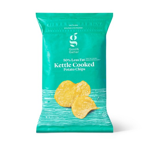 Reduced Fat Kettle Potato Chips - 8oz - Good & Gather™ - image 1 of 3
