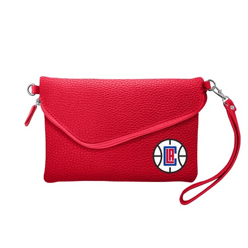 NBA Los Angeles Clippers Fold Over Pebble Crossbody Bag - image 1 of 1