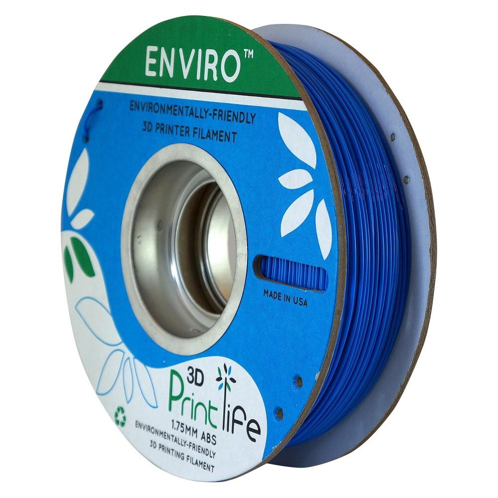 Image of 3D Printlife Enviro Eco-Friendly 1.75mm Premium Abs Filament - Blue (8130377)