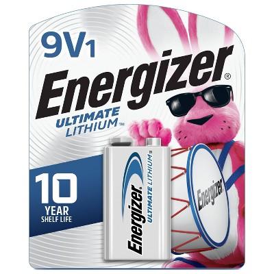 Energizer Ultimate Lithium 9V Batteries