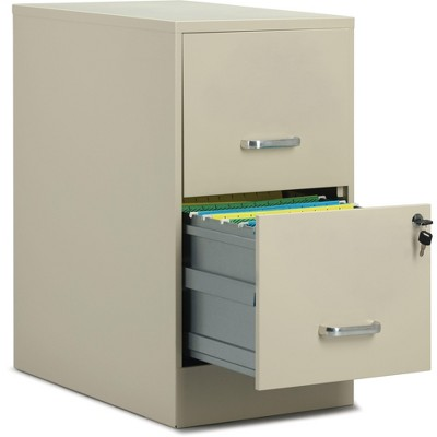 Staples 2-Drawer Light Duty Vertical File 16252/52146