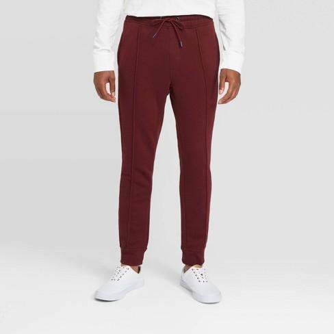 Men's Pintuck Fleece Jogger Pants - Goodfellow & Co™ - image 1 of 3
