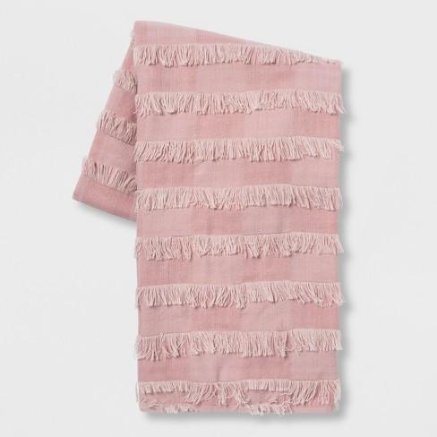 Eyelash Bed Throw Blush - Opalhouse™ - image 1 of 3