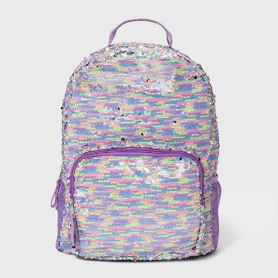 Girls' Flip Sequin Backpack - Cat & Jack™ Purple