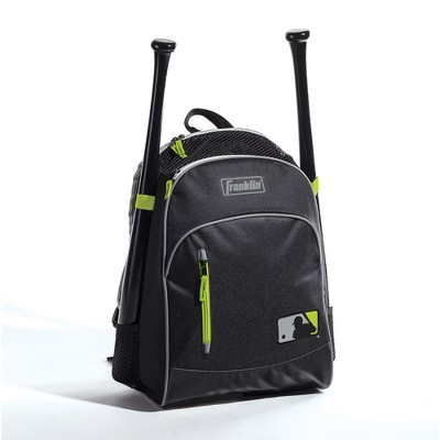 "Franklin Sports 19.25"" Sports Backpack - Black/Green"