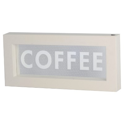 Lightbox  Coffee  Novelty LED Wall Lights - Threshold™