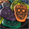 Wilton Plastic Skull Shape Halloween Grippy Cookie Cutter Black - image 4 of 4