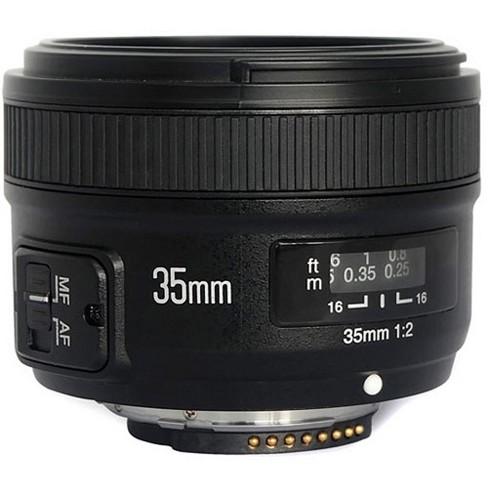 Yongnuo 35mm f/2 MC Lens for Nikon Cameras - image 1 of 4