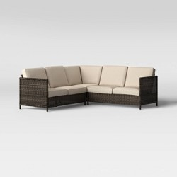 Monroe Motion Patio Sectional Tan - Threshold™