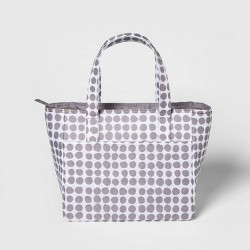 Dot Lunch Tote Gray - Room Essentials™