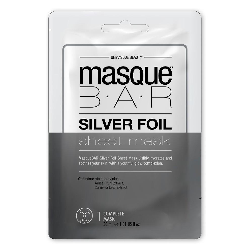 Masque Bar Foil Sheet Mask Silver - 1ct