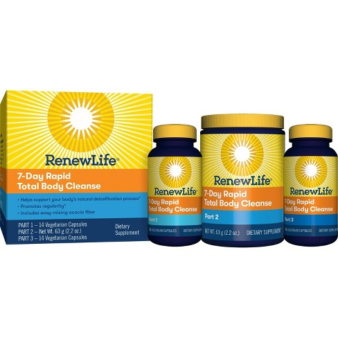 Renew Life Rapid Total Body Cleanse 7-Day Program - image 1 of 7