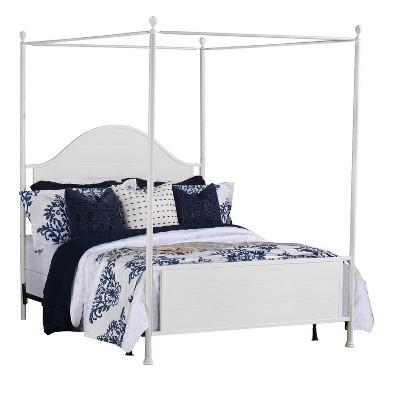 Cumberland Metal Canopy Bed Set - Hillsdale Furniture
