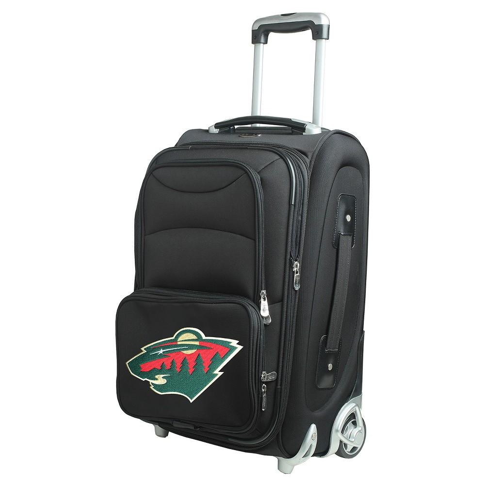 NHL Minnesota Wild Mojo 21 Carry On Suitcase - Black