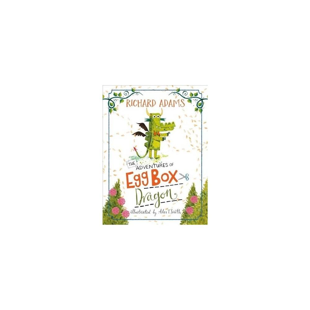 Adventures of Egg Box Dragon - by Richard Adams (Hardcover)