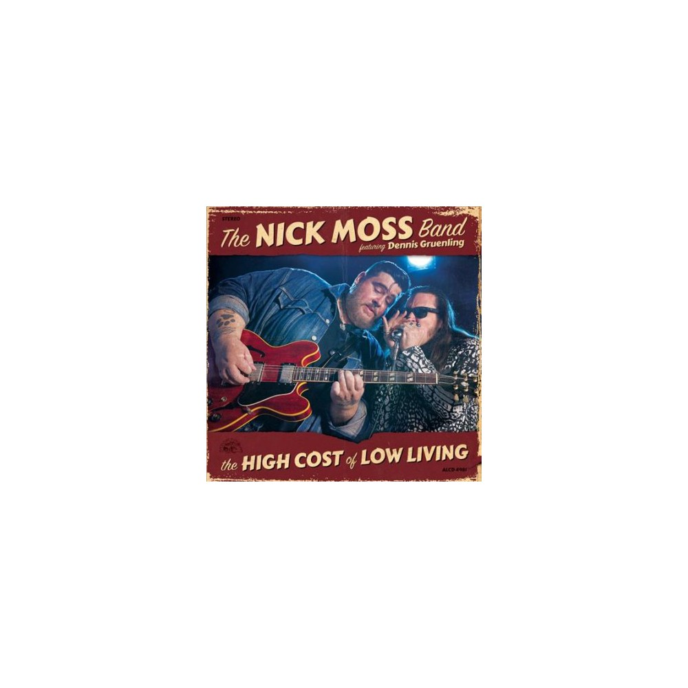 Nick Band Moss - High Cost Of Low Living (CD)